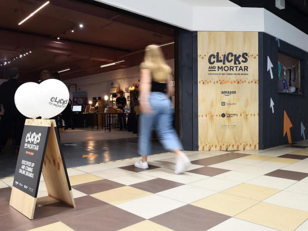 Clicks and Mortar New Store